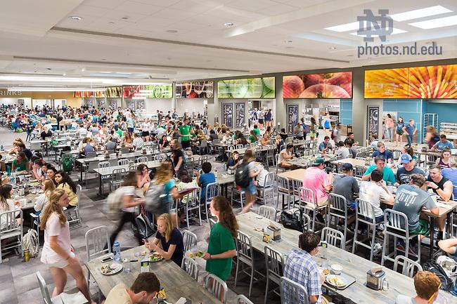 September 21, 2017; North Dining Hall main dining room (Photo by Matt Cashore/University of Notre Dame)