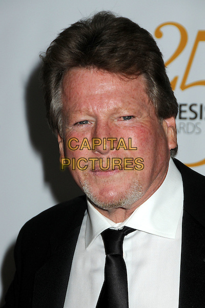 RYAN O'NEAL .25th Anniversary Genesis Awards held at the Hyatt Regency Century Plaza, Century City, California, USA, .19th March 2011..portrait headshot black tie white shirt beard facial hair goatee .CAP/ADM/BP.©Byron Purvis/AdMedia/Capital Pictures.