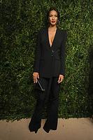 NEW YORK, NY - NOVEMBER 6: Lais Ribeiro at the 14th Annual CFDA Vogue Fashion Fund Gala at Weylin in Brooklyn, New York City on November 6, 2017. <br /> CAP/MPI/JP<br /> &copy;JP/MPI/Capital Pictures
