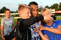 SCHOONEBEEK - Voetbal, SVV 04 - FC Emmen, voorbereiding seizoen 2018-2019, 06-07-2018,  met FC Emmen speler Luciano Slagveer op de foto