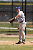 March 15, 2010:  First Baseman Matthew Roche of the Roger Williams University Hawks in a game vs Fontbonne University at Lake Myrtle Park in Auburndale, FL.  Photo By Mike Janes/Four Seam Images