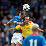 Lee McCulloch and Matthew McGinlay