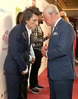 11/03/2020 - Ronnie Wood and Prince Charles at The Princes Trust Awards 2020 At The London Palladium. Photo Credit: ALPR/AdMedia