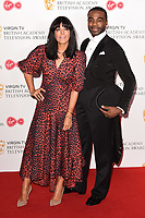 Claudia Winkleman and Ore Oduba<br /> in the winners room for the BAFTA TV Awards 2018 at the Royal Festival Hall, London<br /> <br /> ©Ash Knotek  D3401  13/05/2018