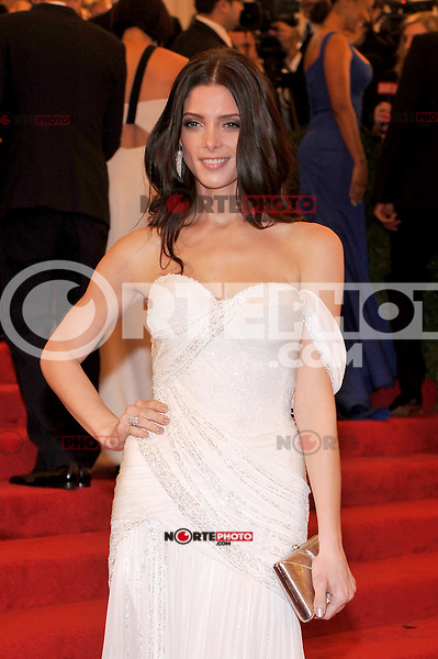 Ashley Greene at the 'Schiaparelli And Prada: Impossible Conversations' Costume Institute Gala at the Metropolitan Museum of Art on May 7, 2012 in New York City. © mpi03/MediaPunch Inc.