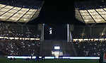 03.11.2018, OLympiastadion, Berlin, GER, DFL, 1.FBL, Hertha BSC VS. RB Leipzig, <br /> DFL  regulations prohibit any use of photographs as image sequences and/or quasi-video<br /> <br /> im Bild Hertha-Fankurve<br /> <br />       <br /> Foto © nordphoto / Engler