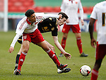 Tyler Smith of Sheffield Utd during the Professional Development League match at Bramall Lane Stadium, Sheffield. Photo credit should read: Simon Bellis/Sportimage