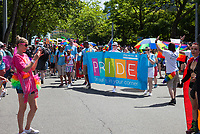 Seattle PrideFest 2017, Pride Parade & Festival, Washington, USA.