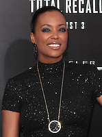 HOLLYWOOD, CA - AUGUST 01: Aisha Tyler at the premiere of Columbia Pictures' 'Total Recall' held at Grauman's Chinese Theatre on August 1, 2012 in Hollywood, California Credit: mpi21/MediaPunch Inc. /NortePhoto.com<br />