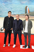 LONDON, ENGLAND - JULY 13: Charlie Simpson, Matt Willis and James Bourne of 'Busted' attending the World Premiere of 'Dunkirk' at Odeon Cinema, Leicester Square on July 13, 2017 in London, England.<br /> CAP/MAR<br /> &copy;MAR/Capital Pictures /MediaPunch ***NORTH AND SOUTH AMERICAS ONLY***