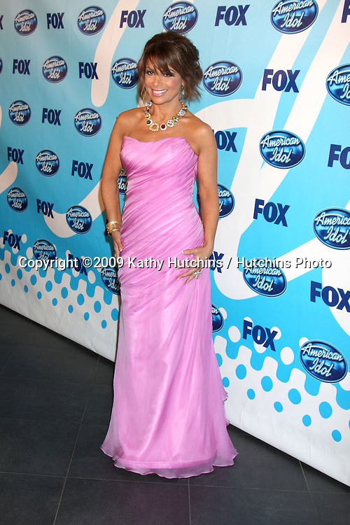 Paula Abdul in the Press Room  at the Amerian Idol Season 8 Finale at the Nokia Theater in  Los Angeles, CA on May 20, 2009 .©2009 Kathy Hutchins / Hutchins Photo..