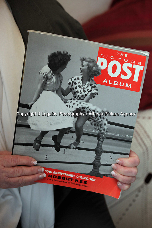 Pictured: Cover of the Picture Post showing the picture of Pat Stewart. <br /> Re: 77 year old Pat Stewart (nee Wilson) who now lives near Llantwit Major in the Vale of Glamorgan, south Wales claims she is one of the two young ladies in an iconic image taken by photographer Bert Hardy at Blackpool Promenade in July 1951, alongside fellow Tiller girl Wendy Clarke. Stewart is alleging that another woman, Norma Edmondson who has been claiming that it is her in the picture, is a fraud.<br /> THE COPYRIGHT OF THE IMAGE ON THE ITEM DEPICTED BELONGS TO BERT HARDY / GETTY IMAGES AND IS ONLY SUPPLIED TO SUPPORT PAT STEWART'S CLAIMS