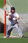 Los Angeles, CA 04/22/16 - Cassandra Collins (USC #43)<br />  in action during the NCAA Stanford-USC Division 1 women lacrosse game at the Los Angeles Memorial Coliseum.  USC defeated Stanford 10-9/