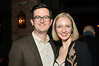 """NEW YORK - MARCH 19: (L-R) Richie Moriarty and Kiera Moriarty attend the party at the Bowery Hotel Terrace following the premiere for FX Networks """"What We Do In The Shadows"""" on March 19, 2019 in New York City. (Photo by Anthony Behar/FX/PictureGroup)"""