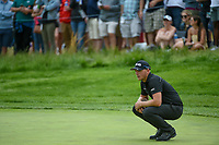 Matthew Wallace (ENG) looks over his putt on 5 during round 4 of the 2019 PGA Championship, Bethpage Black Golf Course, New York, New York,  USA. 5/19/2019.<br /> Picture: Golffile | Ken Murray<br /> <br /> <br /> All photo usage must carry mandatory copyright credit (© Golffile | Ken Murray)