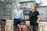 60th Birthday: Tom O'Connor, Moyvane celebrating his 6oth birthday with his wife Margaret at Behan's Horseshoe Bar, Listowel on Saturday night last.