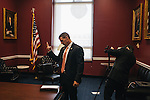 After helping pass a bipartisan bill in the House Transportation and Infastructure Committee, congressman Markwayne Mullin does a quick video interview to recap the day's meeting on Sept. 19, 2013.