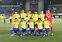 Tochigi SC team group line-up, JUNE 12th, 2011 - Football : Tochigi SC team group (Top row - L to R) Choi Kun Sik, Hirofumi Watanabe, Yuki Okubo, Ricardo Lobo, Paulinho, Tomoyuki Suzuki, (Bottom row - L to R) Kota Mizunuma, Shuto Suzuki, Hirokazu Usami, Kazumasa Takagi and Masahiro Nasukawa before the 2011 J.League Division 2 match between Shonan Bellmare 0-2 Tochigi SC at Hiratsuka Stadium in Kanagawa, Japan. (Photo by Kenzaburo Matsuoka/AFLO)