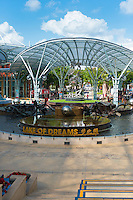 Lake of dreams in Resort World Sentosa, Singapore
