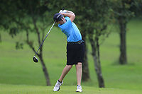 Dave Lawley (Newlands) during the Connacht U14 Boys Amateur Open, Ballinasloe Golf Club, Ballinasloe, Galway,  Ireland. 10/07/2019<br /> Picture: Golffile | Fran Caffrey<br /> <br /> <br /> All photo usage must carry mandatory copyright credit (© Golffile | Fran Caffrey)