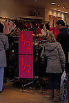 Christmas and New Year sales at Monsoon shop, Ipswich, Suffolk, England 27th December 2008