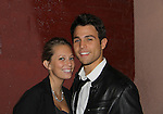 """One Life To Live's Larry Platt """"Nate Salinger"""" poses with his girlfriend Naomi Piercey at Broadway Takes the Runway which benefits Al D. Rodriguez Liver Foundation on October 4, 2010 at Touch, New York City, New York. (Photo by Sue Coflin/Max Photos)"""