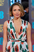 www.acepixs.com<br /> <br /> February 12 2017, London<br /> <br /> Carmen Ejogo arriving at the 70th EE British Academy Film Awards (BAFTA) at the Royal Albert Hall on February 12, 2017 in London, England<br /> <br /> By Line: Famous/ACE Pictures<br /> <br /> <br /> ACE Pictures Inc<br /> Tel: 6467670430<br /> Email: info@acepixs.com<br /> www.acepixs.com