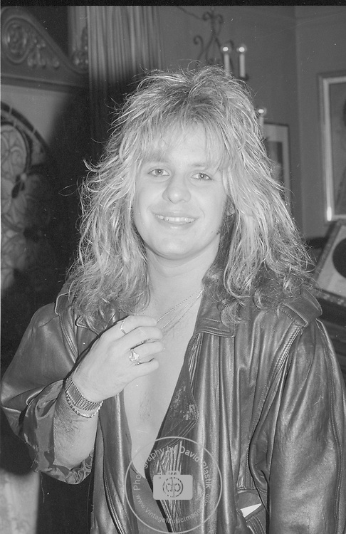 Vince Neil of Motley Crue in Hollywood May 1987.