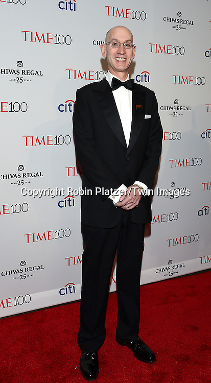 Adam Silver attends the TIME 100 Issue celebrating the 100 Most Influential People in the World on April 21, 2015 <br /> at Frederick P Rose Hall at Lincoln Center in New York City, New York, USA.<br /> <br /> photo by Robin Platzer/Twin Images<br />  <br /> phone number 212-935-0770