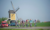 an early breakaway group that formed in the opening kilometres of the race would be out for most of the day and taking more than 15 minutes at times on the peloton<br /> <br /> Amstel Gold Race 2014