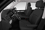 Front seat view of a 2019 Volkswagen Caravelle Highline 4 Door Passenger Van front seat car photos