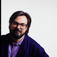 Portrait exclusif de l'ecrivain et metteur en scene <br /> Michel Tremblay,<br /> (Date inconnue)<br /> <br /> PHOTO :  Agence Quebec Presse