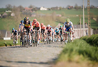 Yves LAMPAERT (BEL/Deceuninck-Quick Step)<br /> <br /> 62nd E3 BinckBank Classic (Harelbeke) 2019 <br /> One day race (1.UWT) from Harelbeke to Harelbeke (204km)<br /> <br /> ©kramon