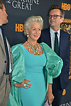 "Helen Mirren, Philip Martin 032 attends the Los Angeles Premiere Of The New HBO Limited Series ""Catherine The Great"" at The Billy Wilder Theater at the Hammer Museum on October 17, 2019 in Los Angeles, California."