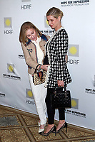 NEW YORK, NY - NOVEMBER 08: Kathy Hilton and Nicky Hilton at the 11th Annual Hope For Depression Luncheon at The Plaza Hotel on November 8, 2017 in New York City. <br /> CAP/MPI99<br /> &copy;MPI99/Capital Pictures