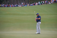 Shane Lowry (IRL) watches his putt on 2 during round 3 of The Players Championship, TPC Sawgrass, at Ponte Vedra, Florida, USA. 5/12/2018.<br /> Picture: Golffile | Ken Murray<br /> <br /> <br /> All photo usage must carry mandatory copyright credit (&copy; Golffile | Ken Murray)