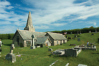 St Enodoc Church, Polzeath, Cornwall