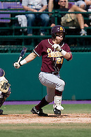 April 5, 2009: Arizona State Sun Devils outfielder Jason Kipnis at-bat during a Pac-10 game against the University of Washington at Husky Ballpark in Seattle, Washington.