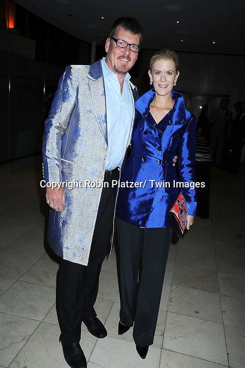 Simon van Kempen and Alex McCord attending The Catalogue for Giving of New York City 15th Annual Urban Heroes Awards Benefit on October 27, 2010 at .Guastavinos in New York City.