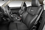 Front seats of a 2009 Chrysler 300 CRD