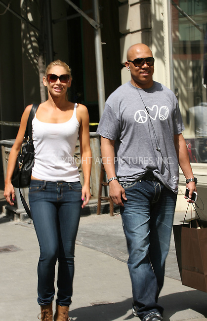 WWW.ACEPIXS.COM . . . . .  ....May 25 2011, New York City....NFL player and Season 12 Dancing with the Stars champion  Hines Ward and his professional dance partner Kym Johnson seen walking arouns Soho on May 25 2011 in New York City.......Please byline: CURTIS MEANS - ACE PICTURES.... *** ***..Ace Pictures, Inc:  ..Philip Vaughan (212) 243-8787 or (646) 679 0430..e-mail: info@acepixs.com..web: http://www.acepixs.com