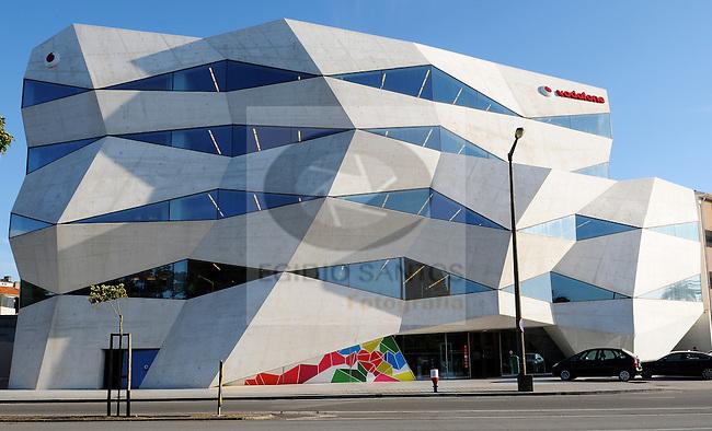 Edificio Vodafone do Porto, obra dos arquitectos José António Barbosa e Pedro Guimarães.
