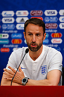 England Manager Gareth Southgate during an England press conference, prior to their 2018 FIFA World Cup Group G match against Panama, at Nizhny Novgorod Stadium on June 23rd 2018 in Nizhny Novgorod, Russia. <br /> Football FIFA World Cup Russia  2018 <br /> Foto Panoramic/Insidefoto