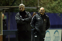 Romford manager Paul Martin during Romford vs Brentwood Town, Velocity Trophy Football at the Brentwood Centre on 8th October 2019