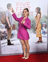 "07 March 2019 - Westwood, California - Haley Lu Richardson. ""Five Feet Apart"" Los Angeles Premiere held at the Fox Bruin Theatre. Photo Credit: Birdie Thompson/AdMedia"