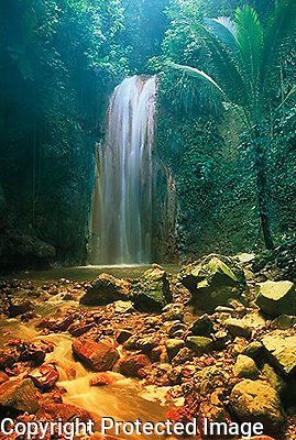 st lucia, WAter FALLS