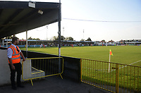 A general view of the Belle Vue Stadium<br /> <br /> Photographer Kevin Barnes/CameraSport<br /> <br /> UEFA Europa League 2nd Qualifying Round 1st Leg - Connah's Quay Nomads v Partizan Belgrade - Thursday July 25th 2019 - Belle Vue Stadium - Rhyl<br />  <br /> World Copyright © 2019 CameraSport. All rights reserved. 43 Linden Ave. Countesthorpe. Leicester. England. LE8 5PG - Tel: +44 (0) 116 277 4147 - admin@camerasport.com - www.camerasport.com
