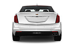 Straight rear view of 2019 Cadillac CT6 Luxury 4 Door Sedan Rear View  stock images