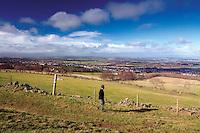 Edinburgh from above Torphin, The Pentland Hills Regional Park, Lothian
