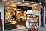 Traditional Chocolate Shop in Rouen selling Joan of Arc Confectionery, Normandy, France